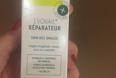 Vernis Evonail : Soin réparateur des ongles fragilisés par la chimiothérapie