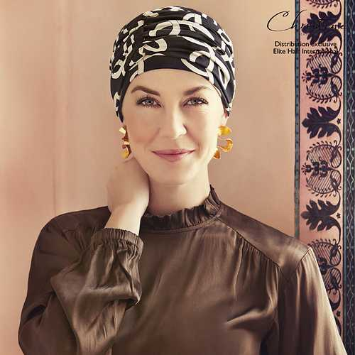 Nouveautés Turbans/Foulards Elite Hair bonnet-chimio-duo-karma-bambou-dolce-vita-10090618