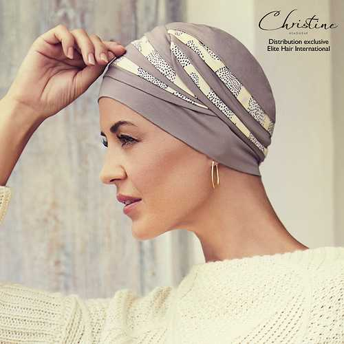 Nouveautés Turbans/Foulards Elite Hair bonnet-chimio-hindi-bambou-mogador-13310658
